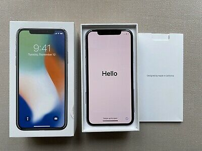 Apple iPhone X - 64GB - Silver (Unlocked) A1865 (CDMA + GSM) AppleCare 3/7/20.