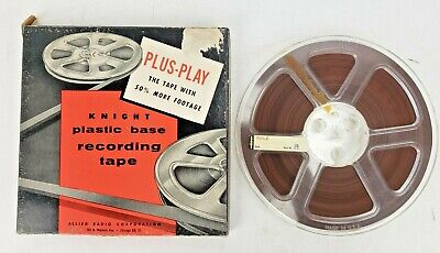 Vintage Reel To Reel Audio Tape UN Concert 1958 Ravi Shankar Classical