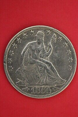 1854 O Seated Liberty Half Dollar Exact Coin Pictured Flat Rate Shipping OCE 98