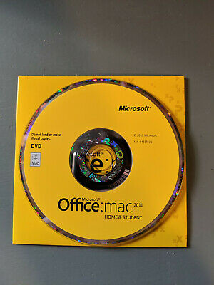 Microsoft Office 2011 Home and Student (Retail) (1 Copies) - Full Version for...