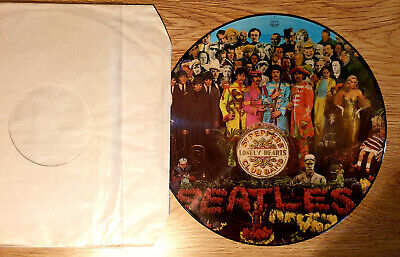 The Beatles - Sgt Peppers Lonely Hearts Club Band - Picture Disc LP Vinyl Record