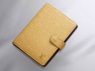 H7717M Authentic Louis Vuitton Epi Agenda Notebook Cover PM