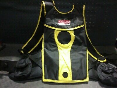 Rubbermaid Commercial Flow Floor Finishing Mop Kit Backpack Only. No Bladder
