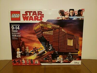 Sandcrawler 75220 with Blaster Guns LEGO Star Wars Minifigure Combo Jawas