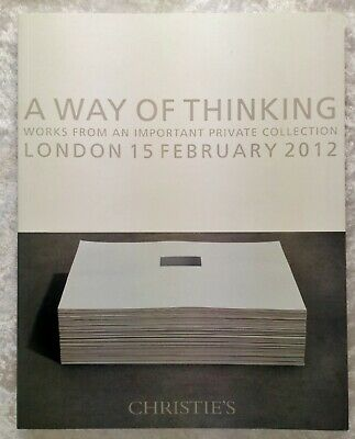 Christie's Auction Catalogue-A Way of Thinking-Private Collection-Modern Artwork