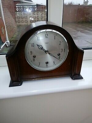 Smithes Empire Westminster Chimes Mantel Clock.