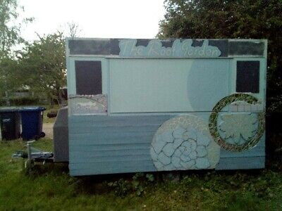 MOBILE FOOD CATERING TRAILER 7ft X 10Ft