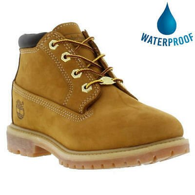 Timberland Nellie Womens Ladies Waterproof Wheat Leather Chukka Ankle Boots