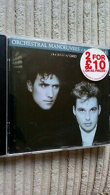 Omd Orchestral Manoeuvres In The Dark - The Best Of Cd Compilation Album 1988