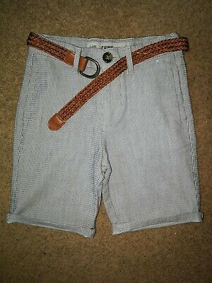 Boys Age 5-6 Years Chino Shorts With Belt Primark