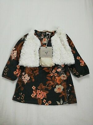 Girls Next 3 Piece Outfit Age 1.5 - 2
