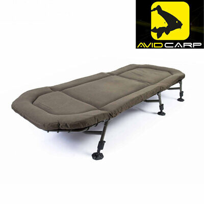 AVID CARP NEW 2018 BENCHMARK MEMORY FOAM CHAIR FREE POST