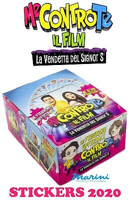 Diramix Me Contro Te The Film - Box 40 Bags Stickers Figurine Collection 2020