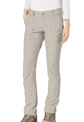 NEW Columbia Women's Pilsner Peak Pants Truffle Oxford Size 4 Long