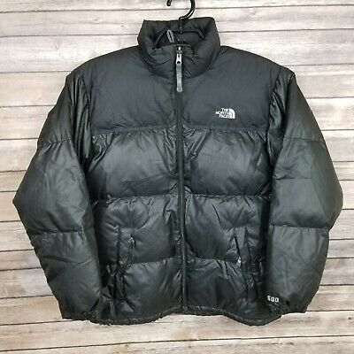 The North Face BOYS Nupste Black Vintage Jacket 600 Fill Size XL