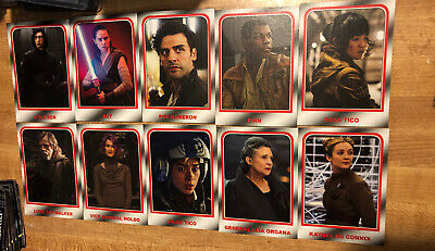 Topps Star Wars Journey to The Rise of Skywalker Choose Your Destiny 10-card Set