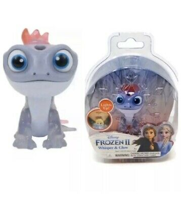 NEW! Disney Frozen 2 II Whisper And Glow & Light Up Figure BRUNI The Salamander