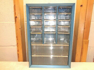 AKRO MILS 17 Drawer Metal Storage Bin