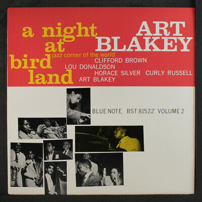 ART BLAKEY: A Night At Birdland, Vol. 2 LP (Manhattan pressing) Jazz