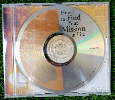 Dane Spotts how to find your mission in Life cd audio program used vgc