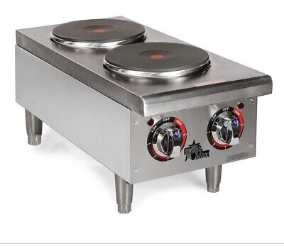 Star - 502FF - Star-Max® Electric 2-Burner Solid Type Hot Plate