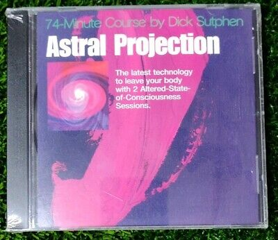 DICK SUTPHEN 74 minute course astral projection CD audio program new sealed