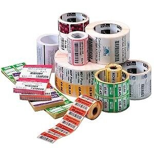 Zebra Z-Select 2000D Paper permanent acrylic adhesive coated 800740-155
