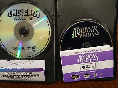New Released Movie's - Zombieland Double Tap/The Addams Family - DVD & Digital