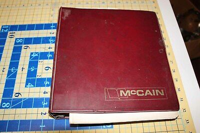McCain 1800 Bostitch Wire Stitcher Heads instruction manual Vintage book