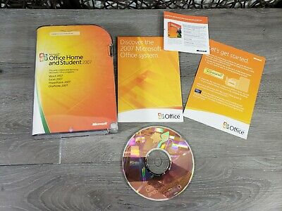 Microsoft Office Home and Student 2007 Word Excel PowerPoint OneNote Product Key