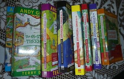 Andy Griffiths Tree House Books