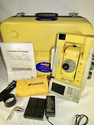 Topcon IS-03 is03 Robotic Imaging Total Station - Service & Calibration May '19