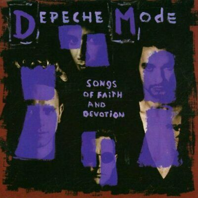 Depeche Mode : Songs of Faith & Devotion CD Incredible Value and Free Shipping!