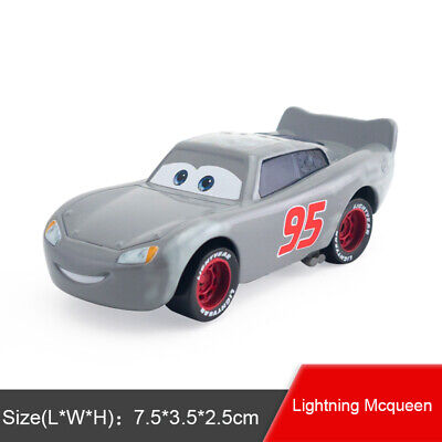 Disney Pixar Cars Primer Lightning Mcqueen Diecast Toy Model Car 1:55 New Gifts