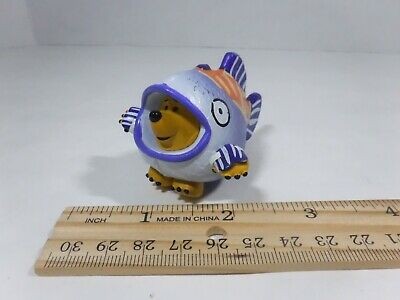 Toy Story Mr. Pricklepants Hedgehog Hawaii Vacation Inside Fish Figure Disney 2""