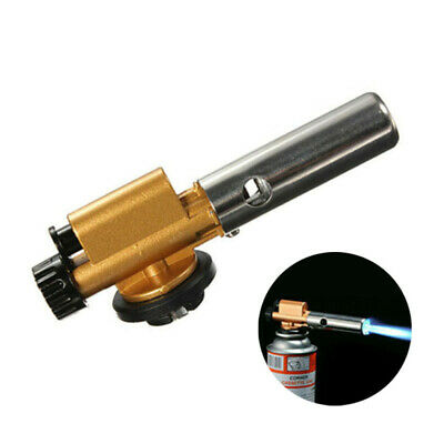 Windproof Jet Flame Torch BBQ Welding Soldering Cooking Blow Burner Lighter Tool