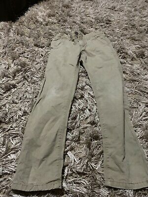 Boys Next Canvas Trousers Aged 9 Years