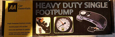 Deluxe Single Barrel Foot Pump Heavy Duty Pump FP003