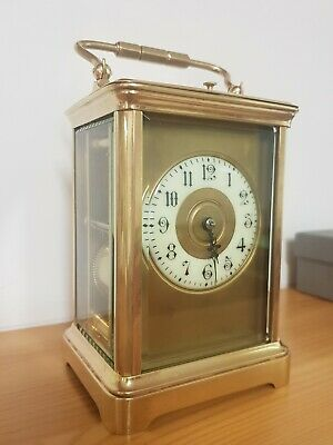 Antique French Repeater Carriage Clock