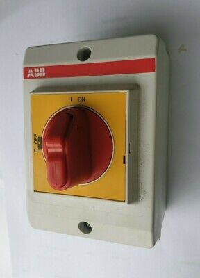 Abb Otp16Ba3M  Isolating Switch (In20S2)