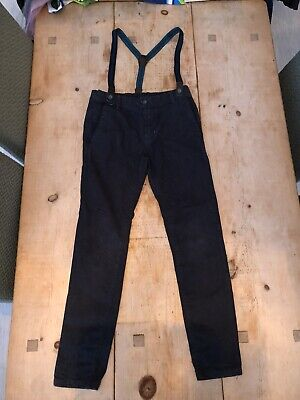 Boys Ted Baker Jeans With Braces (9 Years)