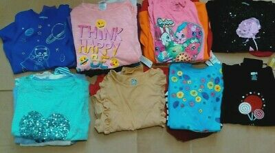 Girls lot long sleeve tops GYMBOREE CRAZY8 LANDS END TCP SO OLD NAVY 10-12 14 16