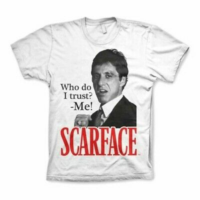#37 Scarface Poster Who Do I Trust Movie Quote 40x60 inch More Sizes Large