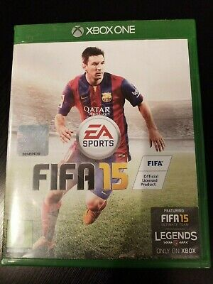 FIFA 15 on XBOX ONE, very good condition