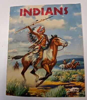 RARE Indians Vintage Advertising Booklet Loma Linda Food Company Ruskets
