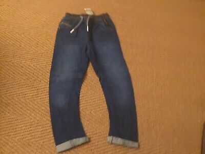 Next Boys Rib Waist Pull-on Jeans Age 10 Years Brand New