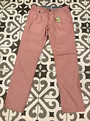Joules Men's Soft Pink Trousers/Chino BNWT