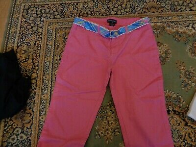 Ralph lauren pink trousers for girl size 14