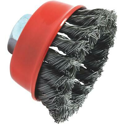 Forney 2-3/4 In. Knotted .020 In. Angle Grinder Wire Brush 72757  - 1 Each