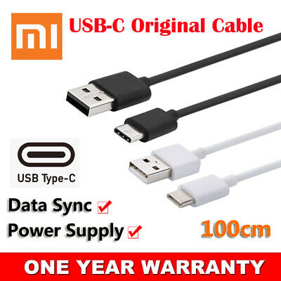 Original USB Type-C Adapter Cable Data Power Charger For Xiaomi Mi 9T Pro Cord